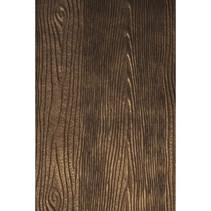 Geprägtes Papier Metallic: Holz