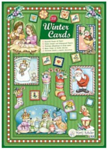 Bücher und CD / Magazines Marij Rahder 3D Decoupage Wintercards