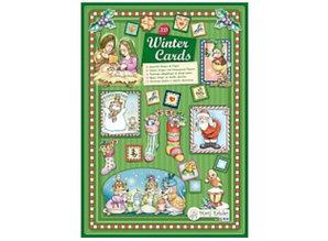 Bücher und CD / Magazines Marij Rahder 3D Decoupage Cards Winter