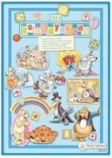 Bücher und CD / Magazines Marij Rahder 3D Decoupage Comedy Cards