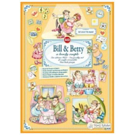 Bücher und CD / Magazines Marij Rahder 3D Decoupage Bill y Betty