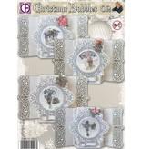BASTELSETS / CRAFT KITS: Completar el diseño de 4 tarjetas