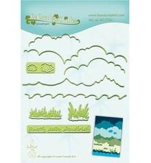 Leane Creatief - Lea'bilities plantillas de perforación y gofrado, Fondo para el paisaje