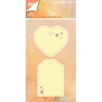 Punching and embossing templates: Labels, labels
