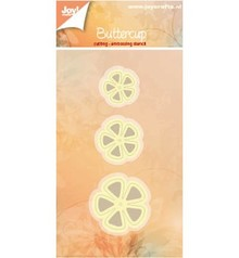 Joy!Crafts und JM Creation Punching and embossing templates: 3 flowers