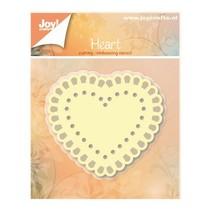 Punzonado y estampado en relieve plantillas: Corazón