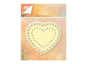 Joy!Crafts und JM Creation Punching and embossing templates: Heart
