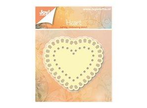 Joy!Crafts und JM Creation Punzonado y estampado en relieve plantillas: Corazón
