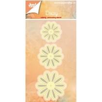 gofrado y recorte: 3 flores