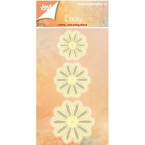 Stanzschablonen: 3 Blumen