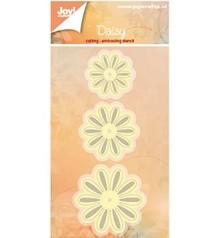 Joy!Crafts und JM Creation gofrado y recorte: 3 flores