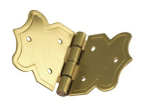 Embellishments / Verzierungen Dekorative hængsler guld, 20x37 mm