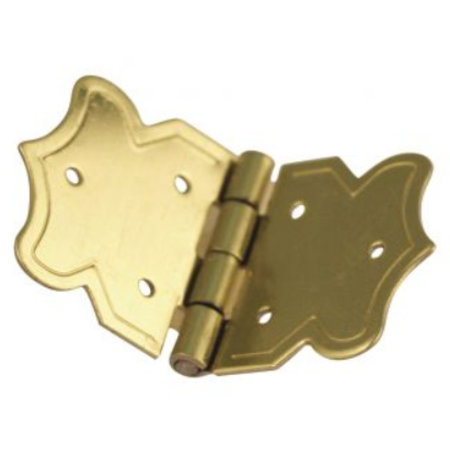 Embellishments / Verzierungen Decorativo bisagras de oro, 20x37 mm
