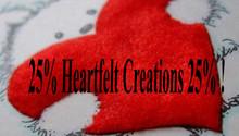Heartfelt Creations aus USA 25% særlig rabat !! Hvilken vej er OFF!