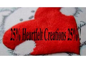 Heartfelt Creations aus USA 25% SONDERRABATT!! WAS WEG IST WEG!