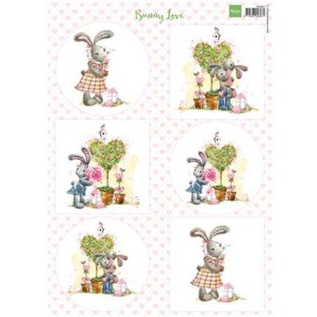 BILDER / PICTURES: Studio Light, Staf Wesenbeek, Willem Haenraets A4, Bilderbogen: Bunny Love