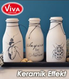 Viva Dekor und My paperworld Ceramic effect: White