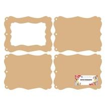 DooBaDoo holandês: MDF photo frame mini-álbum
