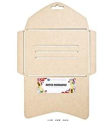 Objekten zum Dekorieren / objects for decorating Dutch DooBaDoo: Umschlag Vorlage