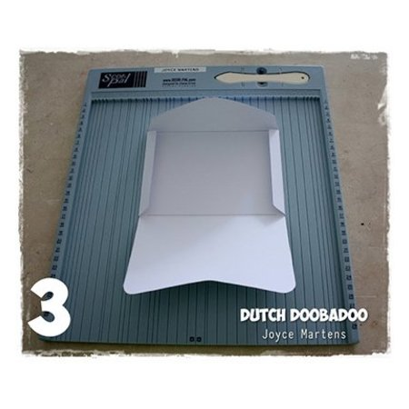 Objekten zum Dekorieren / objects for decorating Dutch DooBaDoo: Umschlag Vorlage