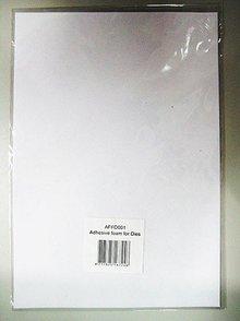 """BASTELZUBEHÖR / CRAFT ACCESSORIES 1 Bogen, """"Release foam"""" loslassen spezialpapier"""