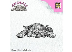 Nellie snellen transparent stamp: Cat