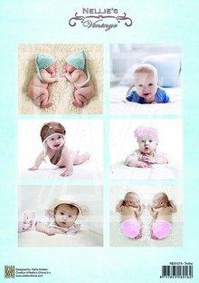 BILDER / PICTURES: Studio Light, Staf Wesenbeek, Willem Haenraets 1 Bilderbogen A4: Vintage baby og tvillinger