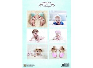 BILDER / PICTURES: Studio Light, Staf Wesenbeek, Willem Haenraets 1 Bilderbogen A4: Vintage baby and twins