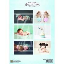 1 Bilderbogen A4: baby lieve jongen