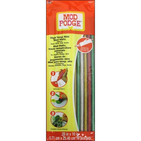 ModPodge Mod Podge, Melts, ø 70 x 254 mm, 16 Stk., Glitter