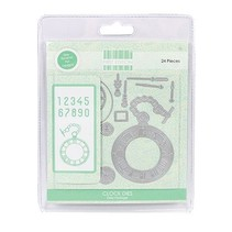 Stamping and embossing template: Vintage watch and accessories