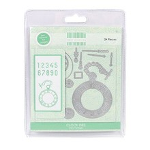Crafter's Companion Stamping and embossing template: Vintage watch and accessories