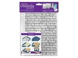 Stempel / Stamp: Transparent Transparent frimerker A5: Stones veggen