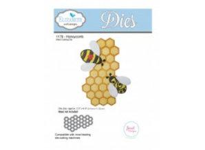 Elisabeth Craft Dies Estampación y embutición de plantilla: 1 de nido de abeja
