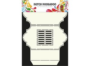 Dutch DooBaDoo A4 Template: Card Type Window