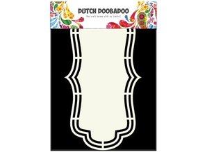 Dutch DooBaDoo A4 skabelon: Shape Type Label