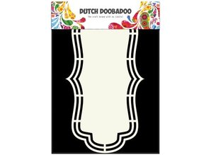 Dutch DooBaDoo A4 template: Shape Type Label