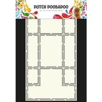 A4 Schablone: Card Art Trifold