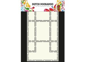Dutch DooBaDoo A4 Template: Card Type Trifold