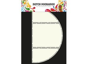 Dutch DooBaDoo A4 Skabelon: Card Art Triptych