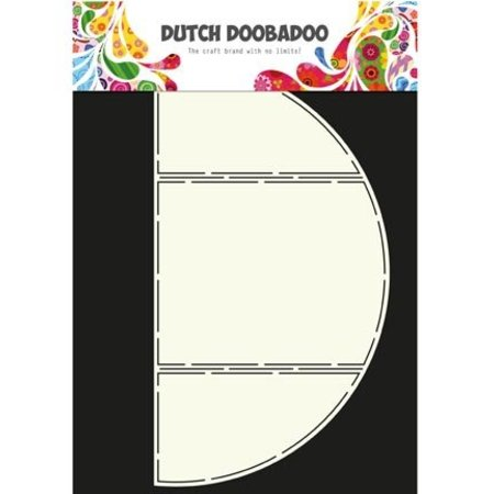 Dutch DooBaDoo Plantilla A4: Tarjeta del arte del tríptico