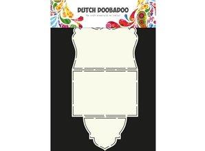 Dutch DooBaDoo A4 Skabelon: Kort Type Fold
