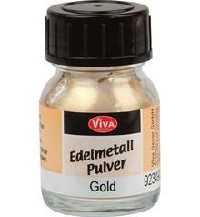 Edelmetall Pulver, gold