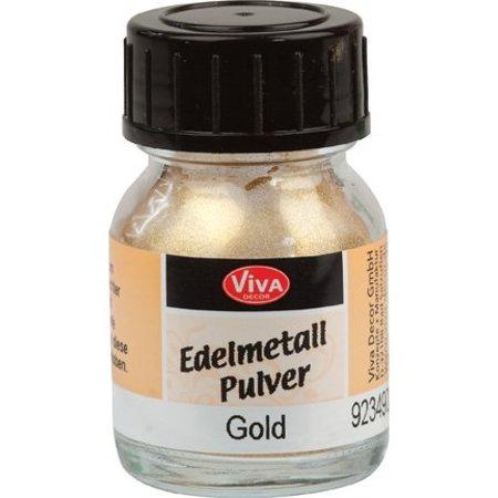 Precious metal powders, gold