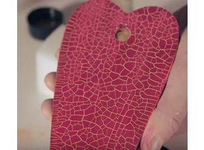 facetas micro pintura, rojo