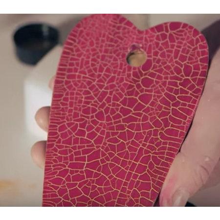 Micro facetten verf, rood