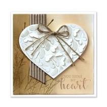 Troqueles de corte: pop fuera de las mariposas en el corazón
