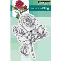 "sello transparente: ""rubor rojo"" Vintage Rose"
