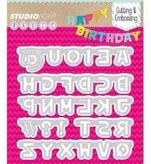 Studio Light Troqueles de corte: las letras