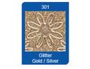 Sticker Micro Glitter adesivi, linee, oro